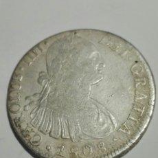 Monedas de España: ESPAÑA 8 REALES DE 1808 DE CARLOS IIII. MEXICO. ENSAYADOR TH. PLATA. Lote 180135641