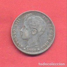 Monedas de España: ALFONSO XIII 1 PESETA 1900, VER FOTOS. Lote 180243348
