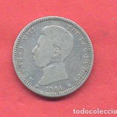 Monedas de España: ALFONSO XIII 1 PESETA 1904, VER FOTOS. Lote 180243436