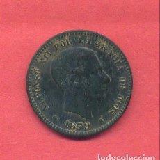 Monedas de España: ALFONSO XII 5 CENTIMOS 1879, VER FOTOS. Lote 180243497