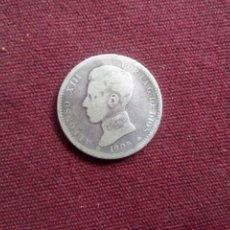 Monedas de España: RARA PESETA DE PLATA DE 1905. Lote 180244765