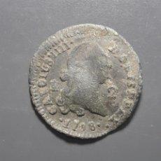 Monedas de España: 2 MARAVEDÍS 1798 SEGOVIA - ÉPOCA CARLOS IV. Lote 180272975
