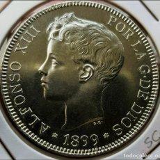 Monedas de España: ESPAÑA 5 PESETAS ALFONSO XIII 1899 ESTRELLAS 18-99 SG V PLATA S/C-. Lote 180342515