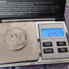 Monedas de España: MONEDA DE PLATA 5 PESETAS DE ALFONSO XLL. Lote 181087488