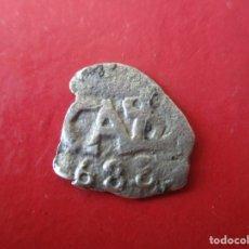 Monedas de España: CARLOS II. 1/2 REAL DE PLATA MACUQUINA.1688. LIMA. #MN. Lote 181108918