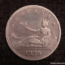 Monedas de España: ESPAÑA. 2 PESETAS 1870 18*73*. Lote 181113717