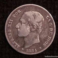 Monedas de España: ALFONSO XII . 2 PESETAS 1884 18*84*. Lote 181115628