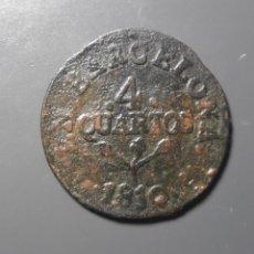 Monedas de España: 4 QUARTOS BARCELONA 1810 - ÉPOCA JOSÉ NAPOLEÓN. Lote 181174106