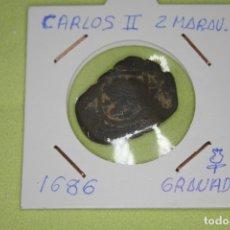 Monedas de España: CARLOS II 2 MARAVEDÍS 1686 GRANADA REFE; 3021. Lote 181196033