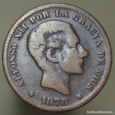 Monedas de España: 5 CÉNTIMOS 1878. Lote 181436966