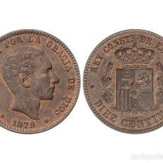 Monedas de España: ALFONSO XII, 10 CÉNTIMOS, 1879, BARCELONA. Lote 181486533