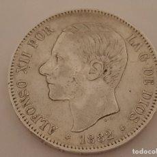 Monedas de España: 5 PESETAS PLATA 1882 MBC. Lote 181519807