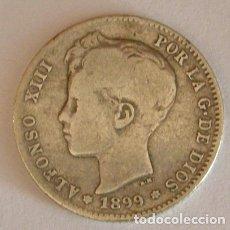 Monedas de España: ALFONSO XIII 1 PESETA 1899. Lote 181760160