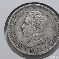 Monedas de España: 50 CENTIMOS EL DE LA FOTO 1904. Lote 182006870