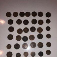 Monedas de España: LOTE DE MONEDAS ESPAÑOLAS 1870 - 1880. Lote 182049372