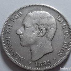 Monedas de España: 5 PESETAS PLATA BUEN EJEMPLAR 1882. Lote 182069602