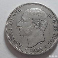 Monedas de España: 5 PESETAS PLATA BUEN EJEMPLAR 1882. Lote 182074227