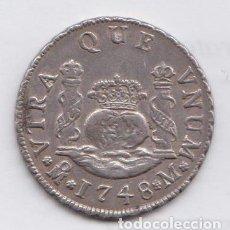 Monedas de España: 2 REALES FERNANDO VI 1748 - MEXICO. Lote 182074971
