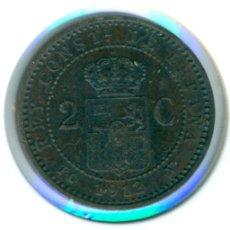 Monete da Spagna: ESPAÑA - ALFONSO XIII 2 CÉNTIMOS 1912 * 12 PC - V ( MBC+ ) KM # 732. Lote 182406527