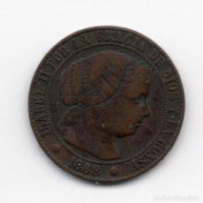 Monedas de España: 1/2 CENTIMO ESCUDO 1868 BARCELONA OM. Lote 182647545