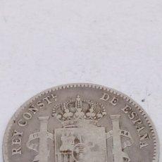 Monedas de España: MONEDA DE PLATA UNA PESETA 1903. Lote 182679297