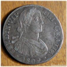 Monedas de España: ESPAÑA. FERNANDO VII. 1809. 8 REALES. MÉXICO, TH. Lote 182881893