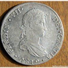Monedas de España: ESPAÑA. FERNANDO VII. 1810. LIMA. JP. 8 REALES. (CAL. 478). MBC+/EBC.. Lote 182888863