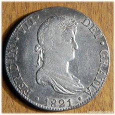 Monedas de España: ESPAÑA. FERNANDO VII. 1821. 8 REALES. ZACATECAS. RG. CAYÓN 16053. Lote 182889866
