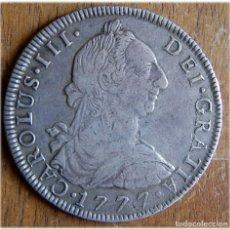 Monedas de España: ESPAÑA- CARLOS III. 1777. 8 REALES. POTOSÍ. PR. CAYÓN 12049. Lote 182971507
