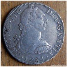 Monedas de España: ESPAÑA. CARLOS III. 1781. 8 REALES. MÉXICO. FF. CAYÓN, 12078 . Lote 182971892