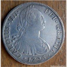 Monedas de España: ESPAÑA. CARLOS IV. 1796. 8 REALES. MÉXICO. FM.. Lote 182975158