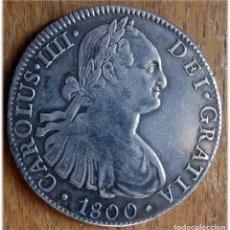 Monedas de España: ESPAÑA. CARLOS IV. 1800. 8 REALES. MÉXICO. FM. . Lote 182975376