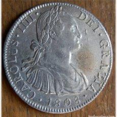 Monedas de España: ESPAÑA. CARLOS IV. 1808. 8 REALES. MÉXICO TH. EBC. CALICÓ, 709; CAYÓN, 13983. . Lote 182975478