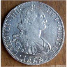 Monedas de España: ESPAÑA. CARLOS IV. 1805. 8 REALES. MÉXICO. TH. CALICÓ, 707; CAYÓN, 13960.. Lote 182975735