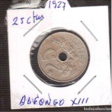 Monedas de España: MONEDA ORIGINAL 25 CENTIMOS 1927 MBT LA QUE VES . Lote 183004616