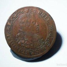Monedas de España: IMPERIO ESPAÑOL JETON 1637 FELIPE IV. Lote 183167887