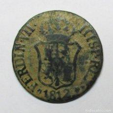 Monedas de España: FERNANDO VII, 1812. MONEDA DE 3 CUARTOS DE LA CECA DE CATALUÑA (MALLORCA). LOTE 2016. Lote 183191026