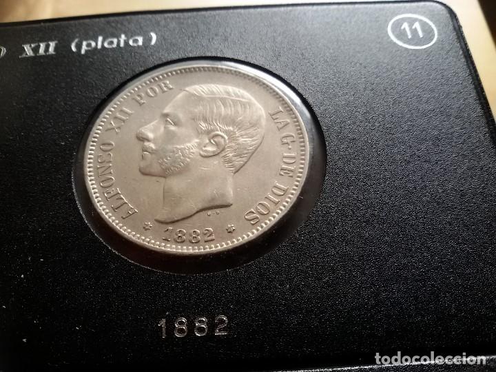Monedas de España: MONEDA DE ALFONSO XII DURO DE PLATA DE 1882 - Foto 4 - 183320951
