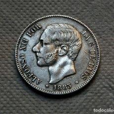 Monedas de España: ALFONSO XII, 5 PESETAS DE 1883, (*18 *83) - MSM - PLATA. Lote 183352786