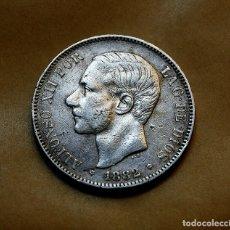 Monedas de España: ALFONSO XII, 5 PESETAS DE 1882, (*18 *82) - MSM - PLATA. Lote 183353657