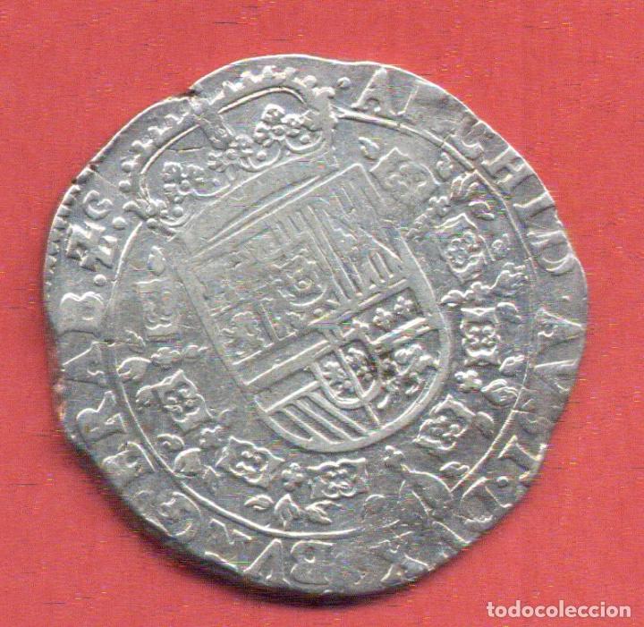 Monedas de España: GRAN MONEDA PLATA FELIPE IV 1 PATAGON 1625 PAISES BAJOS BRAVANTE BELGICA , ORIGINAL - Foto 2 - 183356983