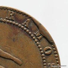 Monedas de España: ERROR MONEDA 10 CENTIMOS 1870 . Lote 183391456