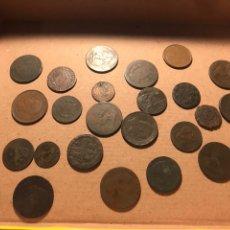 Monedas de España: IMPORTANTE LOTE DE MONEDAS ANTIGUAS VER FOTOS. Lote 183508881