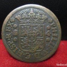 Monedas de España: 4 MARAVEDIS FELIPE V 1748 CECA SEGIVIA. Lote 183564138