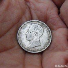 Monedas de España: ALFONSO XIII 1 PESETA 1903*1903 PLATA. Lote 183627057