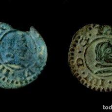 Monedas de España: LOTE DE 2 MONEDAS 4 MARAVEDIS, FELIPE IV, SEVILLA. Lote 183845010