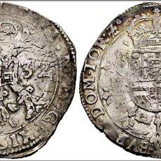 Monedas de España: 1 PATAGON 1632 FELIPE IV (1621-1665). TOURNAI. . (VANHOUDT-645.TO). 27,91 G. LIGERA PATINA. Lote 183845200