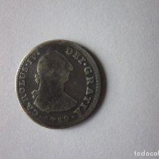 Monedas de España: REAL DE CARLOS IV. MÉXICO. 1789 (BUSTO CARLOS III) PLATA.. Lote 183851078