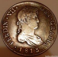 Monedas de España: 8 REALES FERNANDO VII, 1813 SANTIAGO FJ ( FALSA ) IDEAL TAPAR HUECO COLECCIÓN !!. Lote 183857537