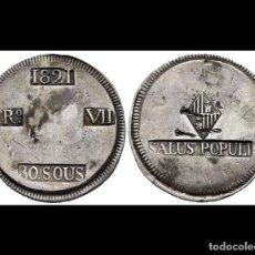Monedas de España: 30 SOUS FERNANDO VII 1821 MALLORCA. Lote 183864221
